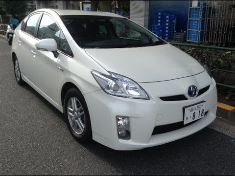 Buy Used Car Japan 2011 Toyota Hybrid Prius Youtube