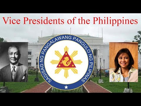 Vice Presidents of the Philippines