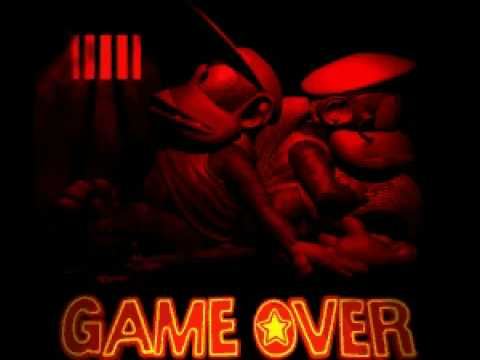DKC2 Game Over Screen - YouTube