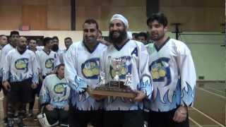 "Congrats To Surrey Giants For Winning 2012-2013 NorthWest Ball Hockey League Championship (""A"" Div)"