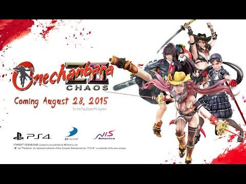 Onechanbara Z2: Chaos (PS4) Trailer