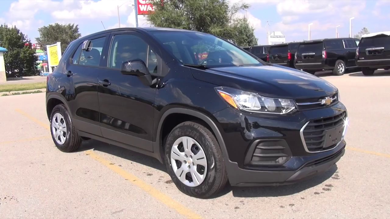 2017 chevrolet trax fwd 4dr ls mosaic black youtube. Black Bedroom Furniture Sets. Home Design Ideas