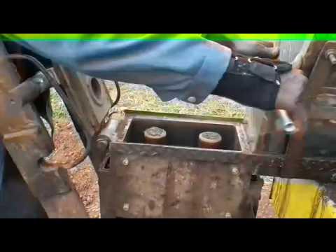 test sur chantier d 39 une presse hydraulique pour blocs autobloquants made in cameroun youtube