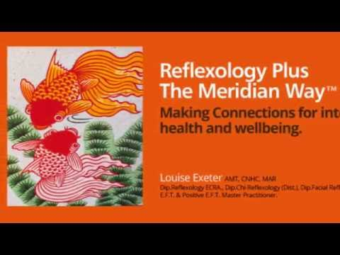 Reflexology working with the meridians