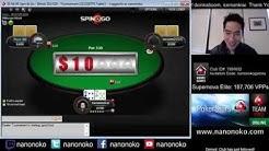 nanonoko Straight Flushing for $1,161 Real Money!