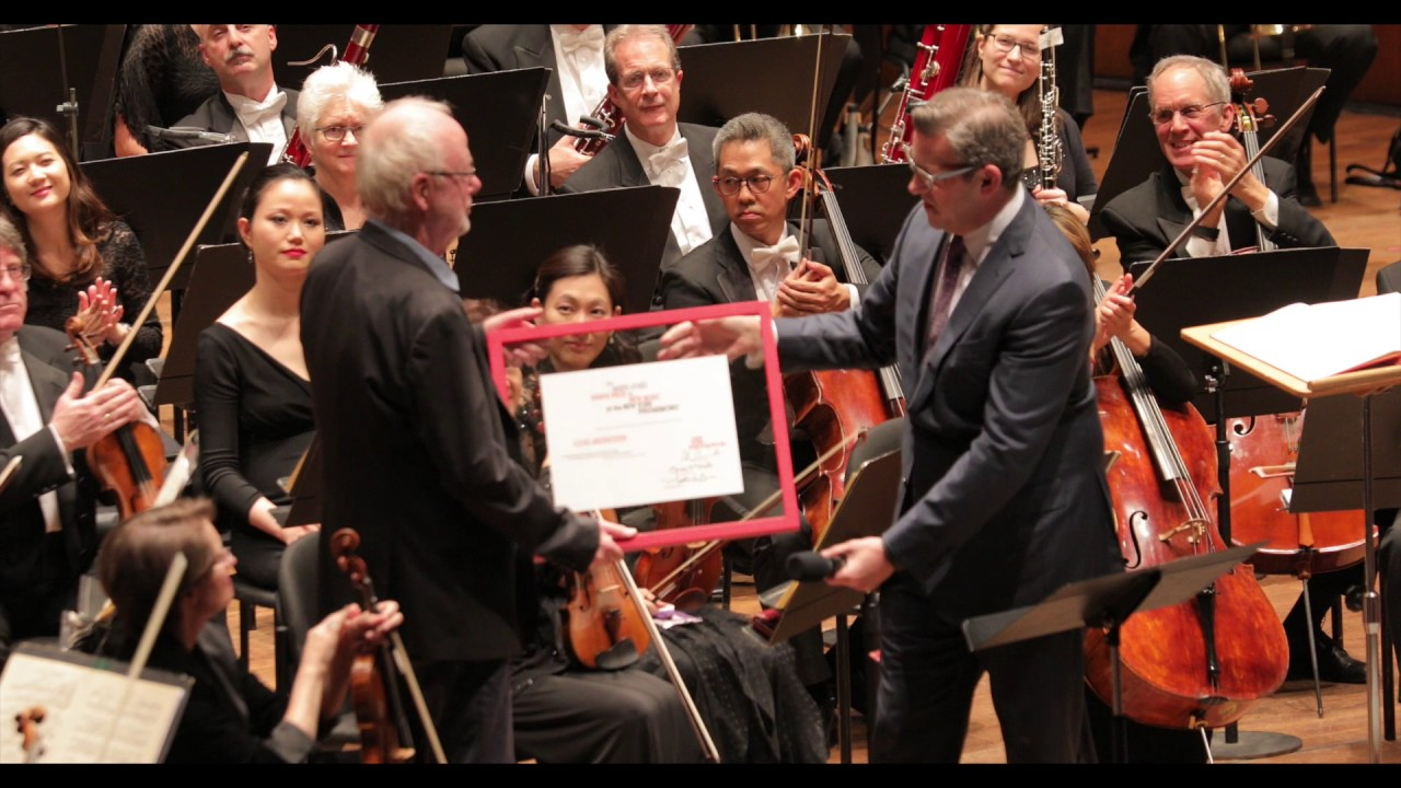 Louis Andriessen Receives The Marie-Josée Kravis Prize for New Music