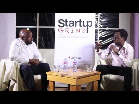 Wally Mlewa (Impact Media) at Startup Grind Lusaka