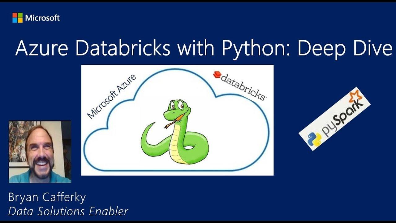 Azure Databricks using Python with PySpark