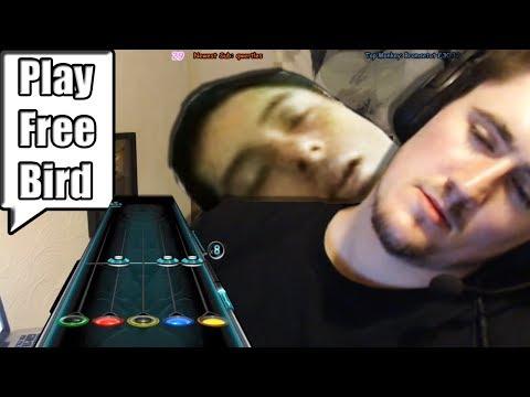 Play Freebird............ on 50% speed (drunk)