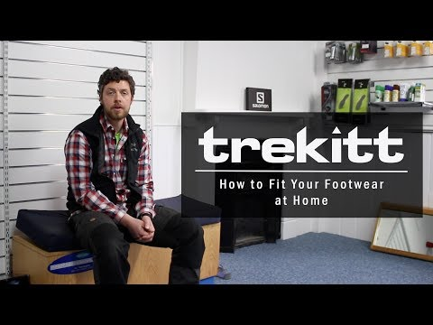 How to Fit Your Footwear at Home