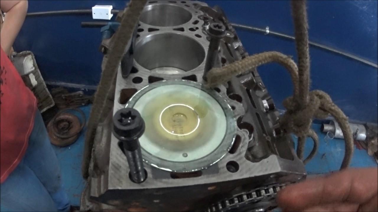 Motor Ford 40 V6 OHV  Montagem 001  YouTube