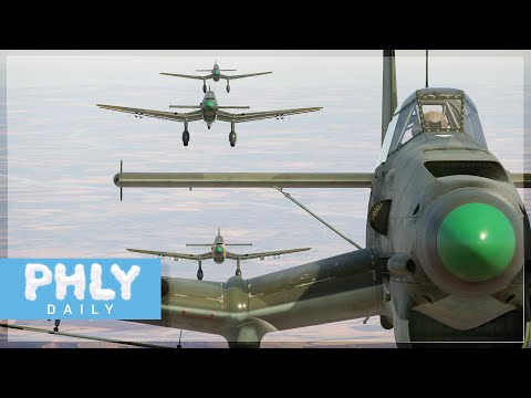 STUKA FORMATION DIVE BOMBING 🎺🎺 | Hold My Schnapps (War Thunder)