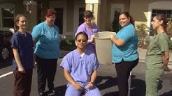 Orlando Oral Surgeon does ice bucket challenge.