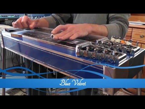 Blue Velvet Pedal Steel Guitar & Guitar Instrumental