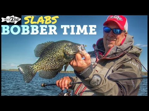 Bobber Fishing Tips For Springtime Crappies