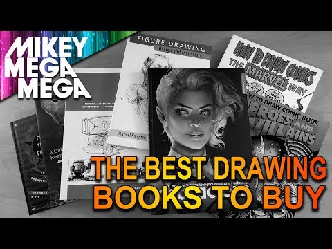Drawing Book Recommendations (with Links!) - My Personal Favourite How To Draw Books