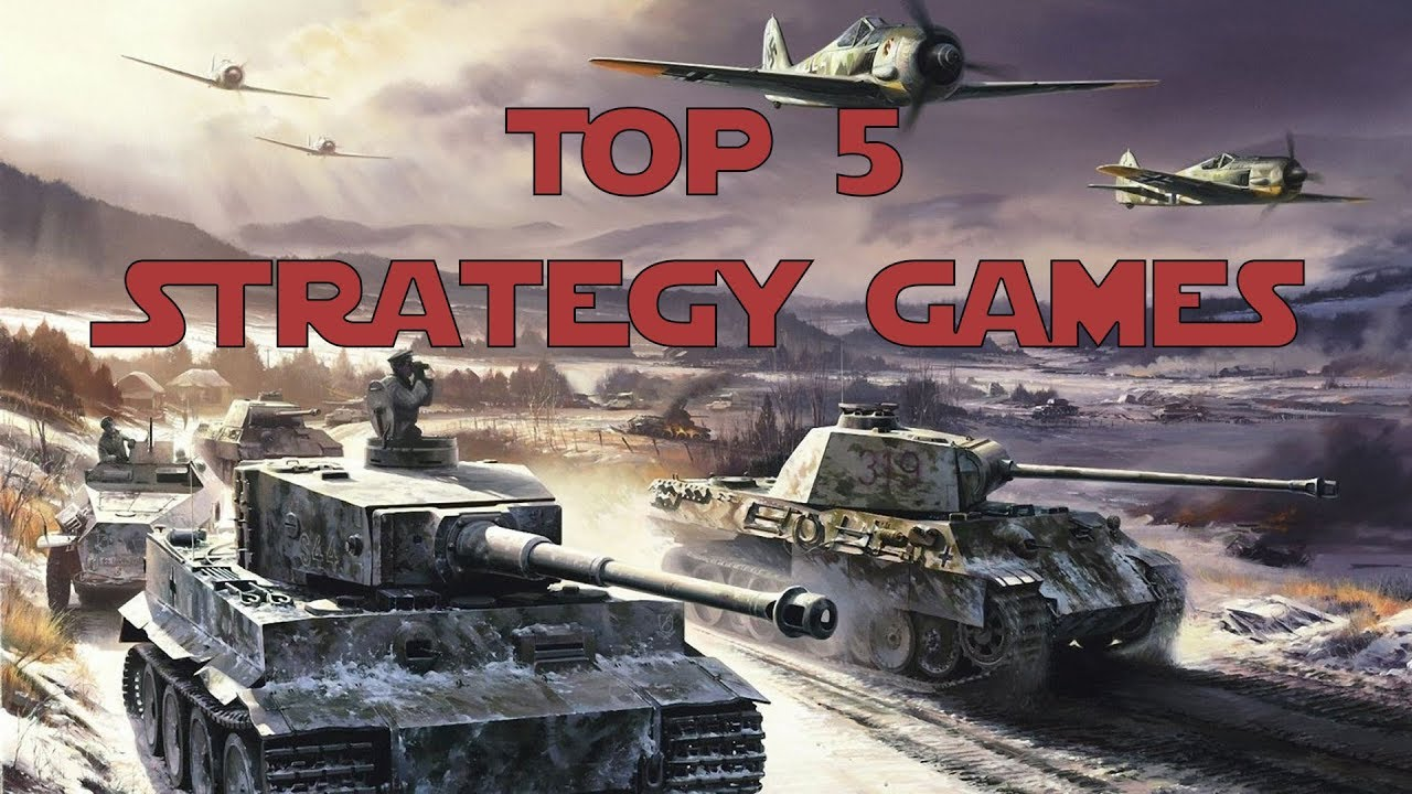 Top 5 Strategy Games Ww2 Youtube