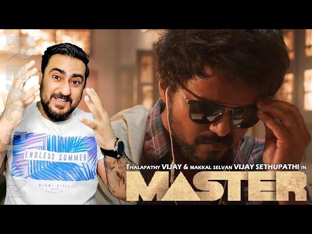 Master - Official Teaser Reaction | Thalapathy Vijay | Pakistani Reaction | IAmFawad