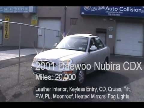 2001 Daewoo Nubira CDX Sedan Review - YouTube