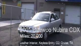 2001 Daewoo Nubira CDX Sedan Review