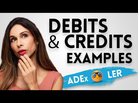 PROPERLY Record Debits And Credits With Examples (EASIEST Method)