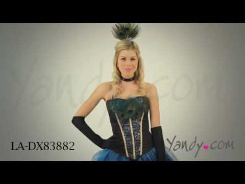 Deluxe Peacock Princess Costume