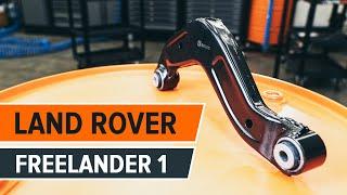Hvordan bytte Opphengsarmer LAND ROVER FREELANDER (LN) - online gratis video