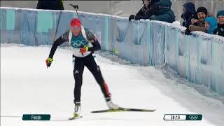JO 2018 Biathlon  : regardez la fin de course d'Anaïs Bescond, en bronze dans la poursuite