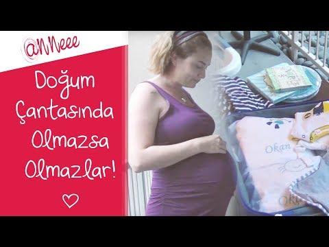 Hamilelik Günlüğüm |  Doğum Çantası Hazırlığı
