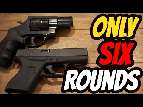If You Can Only Carry 6 Rounds| Glock 43 Vs. Revolver