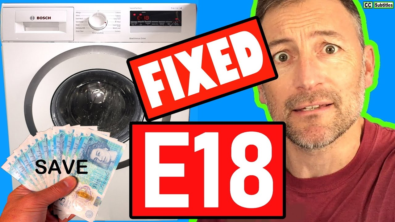 How To Activate Child Lock On Bosch Washing Machine Youtube