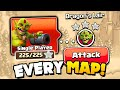 Speedrun for All 75 Goblin Maps in Clash of Clans!