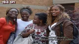 Femme Africaine I love you Ledoux paradis Télé Solidarité