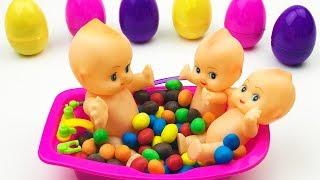 Preschool Video Bathing Babies In The Bathroom Video for Children