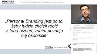 Marka osobista eksperta - Top Personal Branding & Profsa