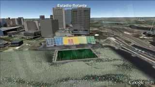Estadios de fútbol más originales del planeta Tierra. I. [IGEO.TV]