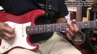 EAST COAST BLUES Improv Guitar Solo - Blues Guitar Lessons Link In Video Description!