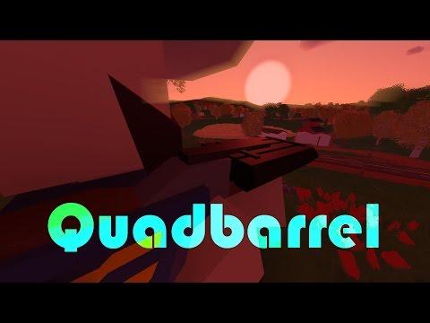 Unturned   QUADBARREL   full review -PvP