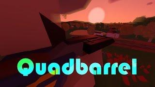 Unturned | QUADBARREL | full review -PvP