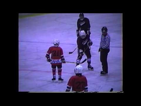 Chazy - N. C. Cougars PeeWee Hockey  11-23-90