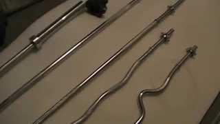 Грифы для штанги гриф прямой, гриф изогнутый, гриф олимпийский(, 2014-09-26T11:22:51.000Z)