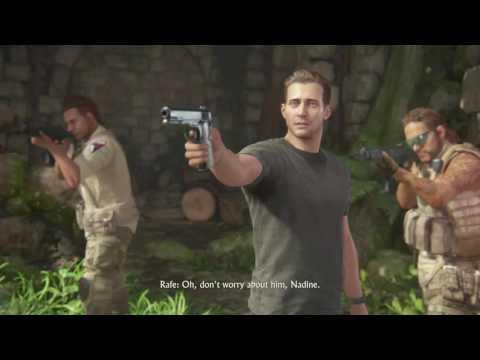 Uncharted 4: A Thief's End campaign pt31 - An Escape, A Showdown and a HUGE Plot Twist!