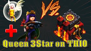 Clash of Clans [coc] - TH10 3Star Strategy | Archer Queen + Healer + Golava Combo | [MUST WATCH]