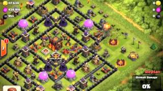 Clash of Clans Attacks - Episode 31 - Lucky Number 69 - and Free Gems!