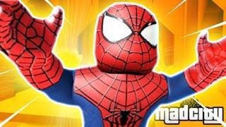 LE MEILLEUR SUPER HERO DE MADCITY !! Roblox