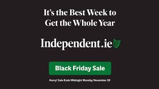 Black Friday Sale - Save 42% at Independent.ie