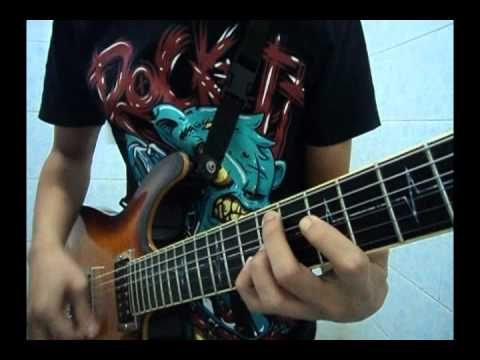 Lostprophets - Rooftops [OFFICIAL Guitar Cover By Gift]