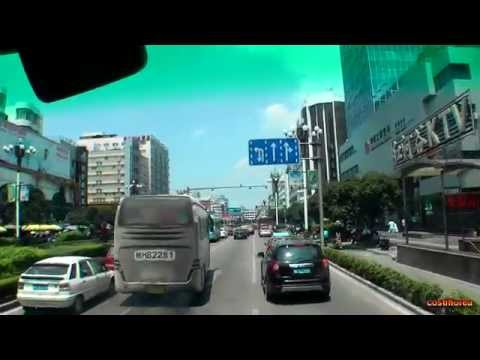 Guilin Bus Tour, arrival at Osmanthus Hotel - Trip to China part 55 - Full HD travel video