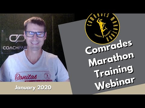2020 Bonitas Comrades Marathon Training Webinar - January 2020