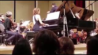 MOZART piano concerto No.12 in A major, K.414 (Emmanuelle STEPHAN)